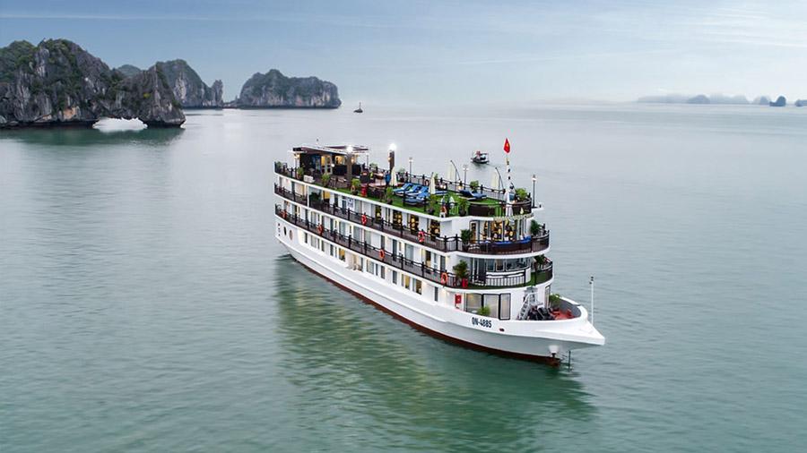 Margaret Cruise là du thuyền 5 sao tiện ích bật nhất Hạ Long