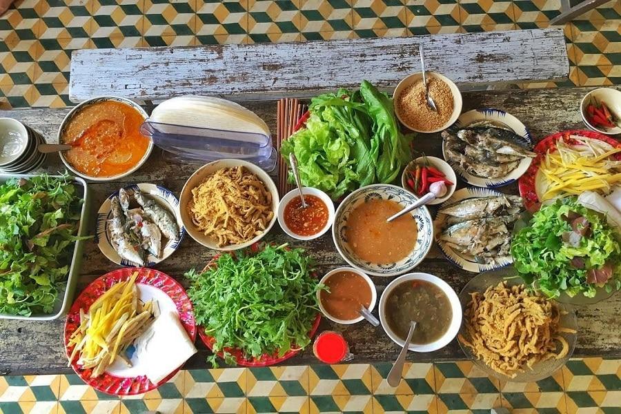 Gỏi cá Nam Ô