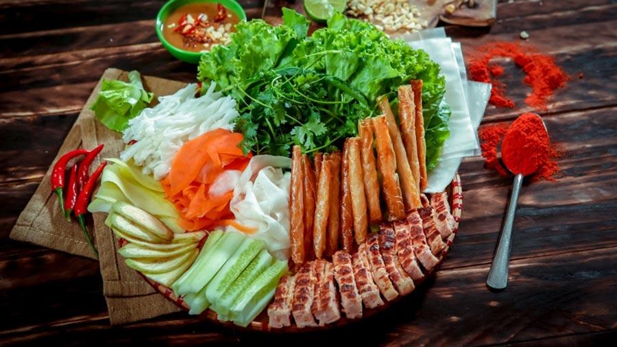 Nem nướng Nha Trang nổi tiếng