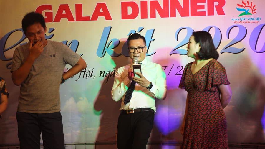 Chương trình Gala Dinner sôi động, thú vị