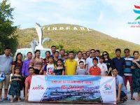 Đoàn khách Nha Trang - Đà Lạt bắt đầu hành trình du lịch đáng nhớ