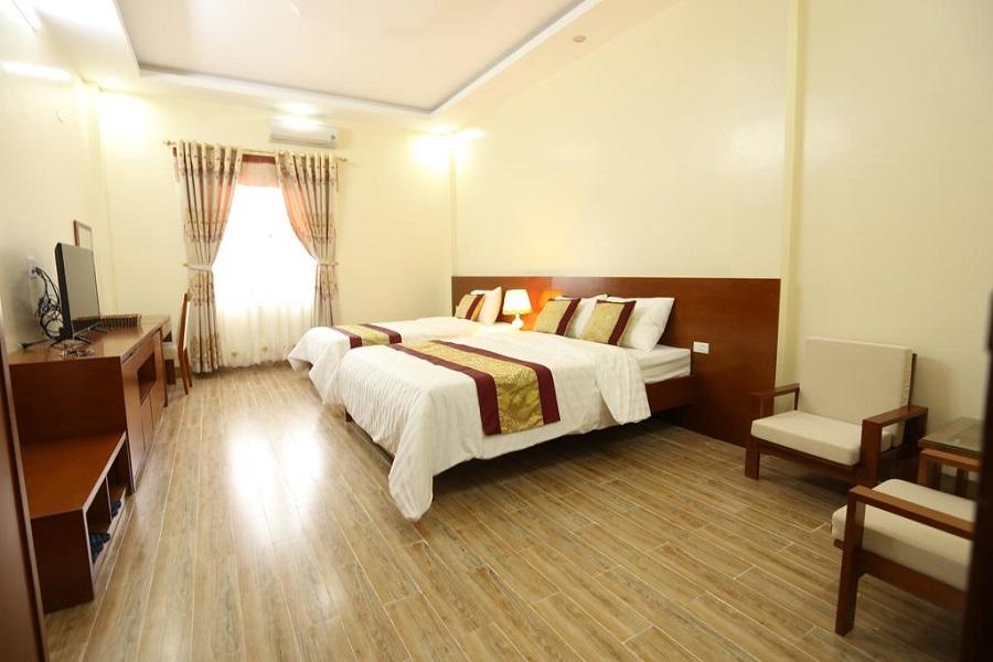Không gian phòng của Royal Hotel Hà Giang