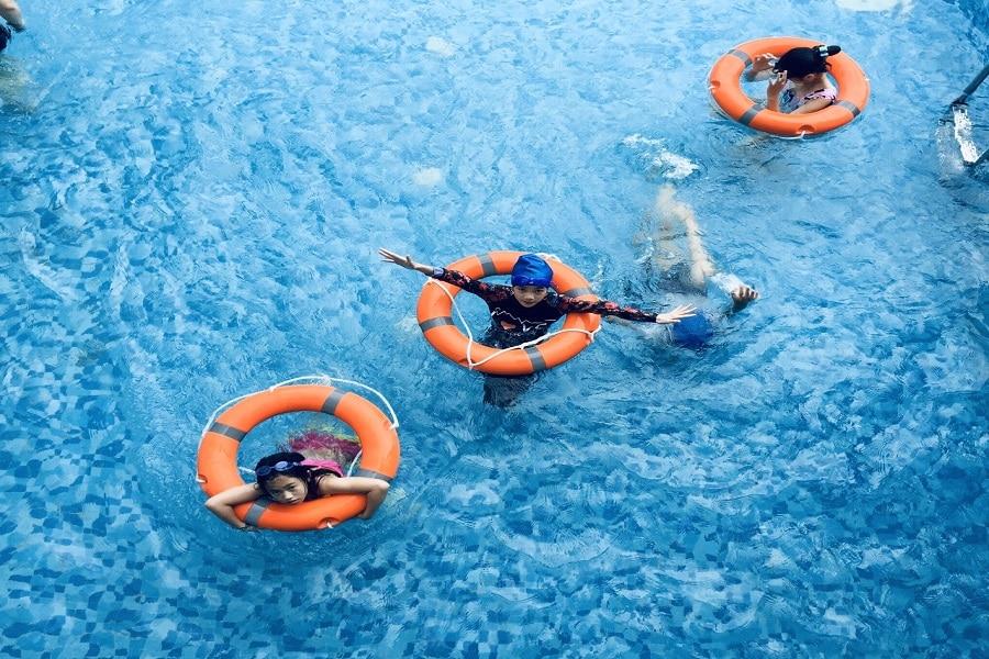 Bể bơi bốn mùa của Phoenix hotel Hà Giang