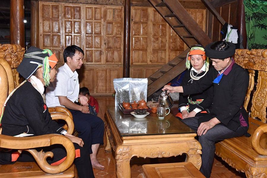 Cách uống chè Shan Tuyết đúng điệu