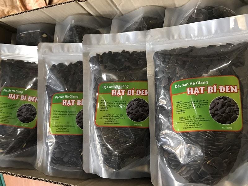 Hạt bí đen Hà Giang – Đặc sản vùng cao