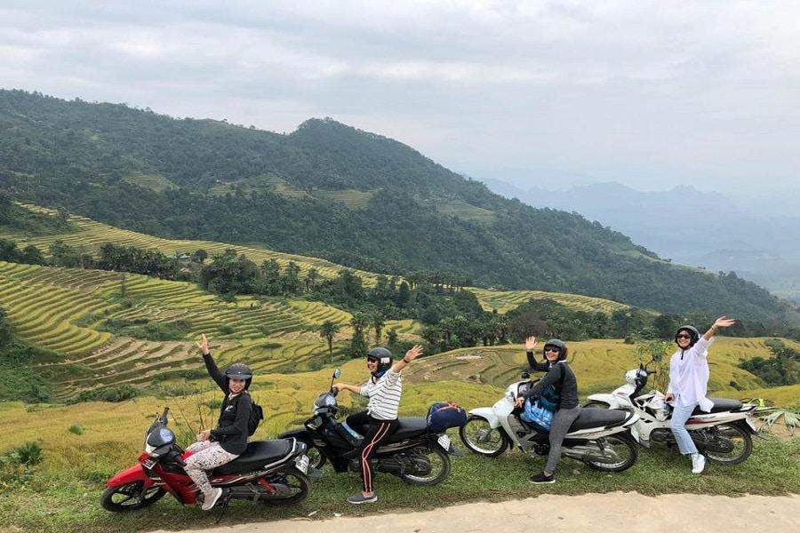 Đi phượt bằng xe máy từ Sapa xuống Hà Giang
