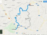 Cung đường di chuyển từ Hà Giang đến Đồng Văn