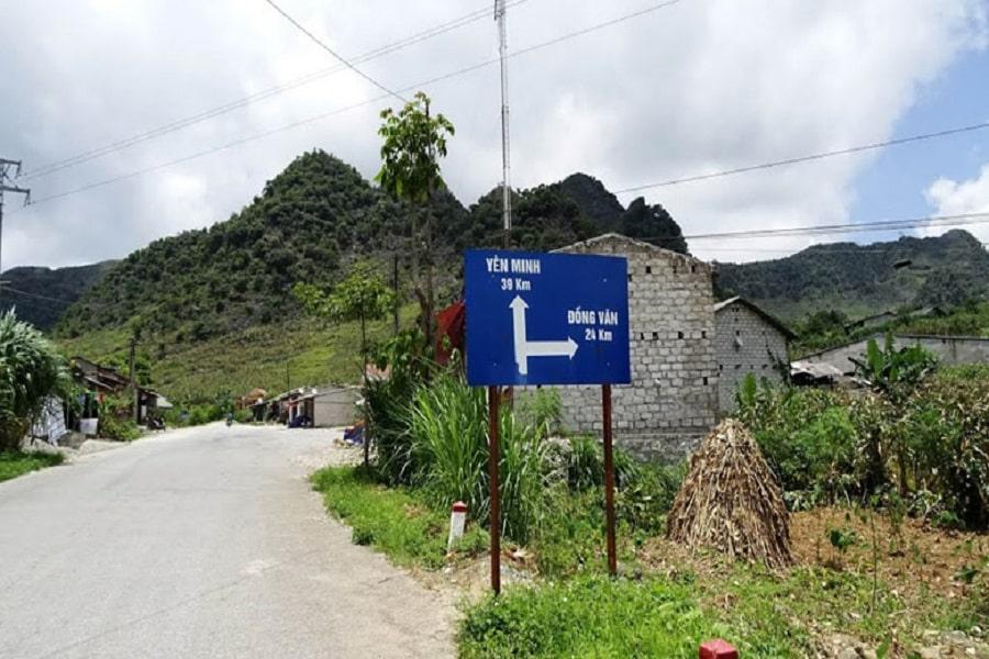 Từ Hà Giang đi Đồng Văn bao nhiêu km?