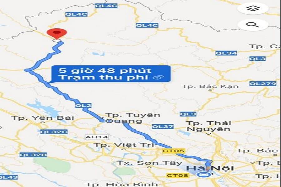 Cung đường đi từ Hà Nội Đến Hà Giang