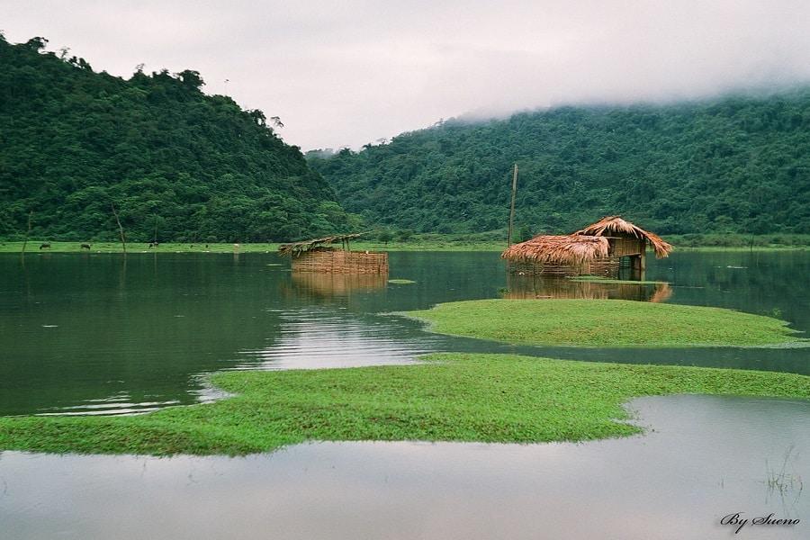 """Hồ Noong-chốn """"bồng lai tiên cảnh"""" chốn nhân gian"""