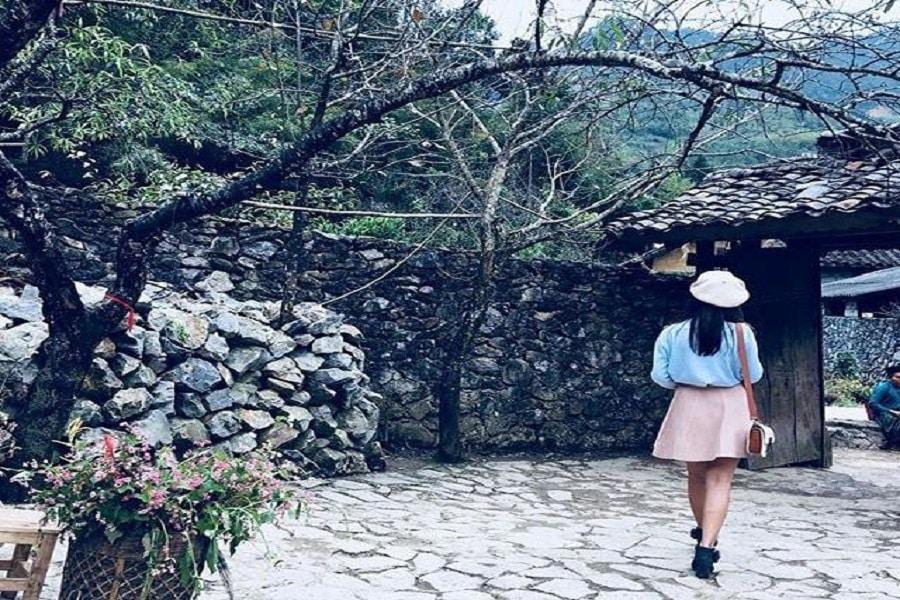Lối kiến trúc độc đáo của những ngôi nhà tại Hà Giang