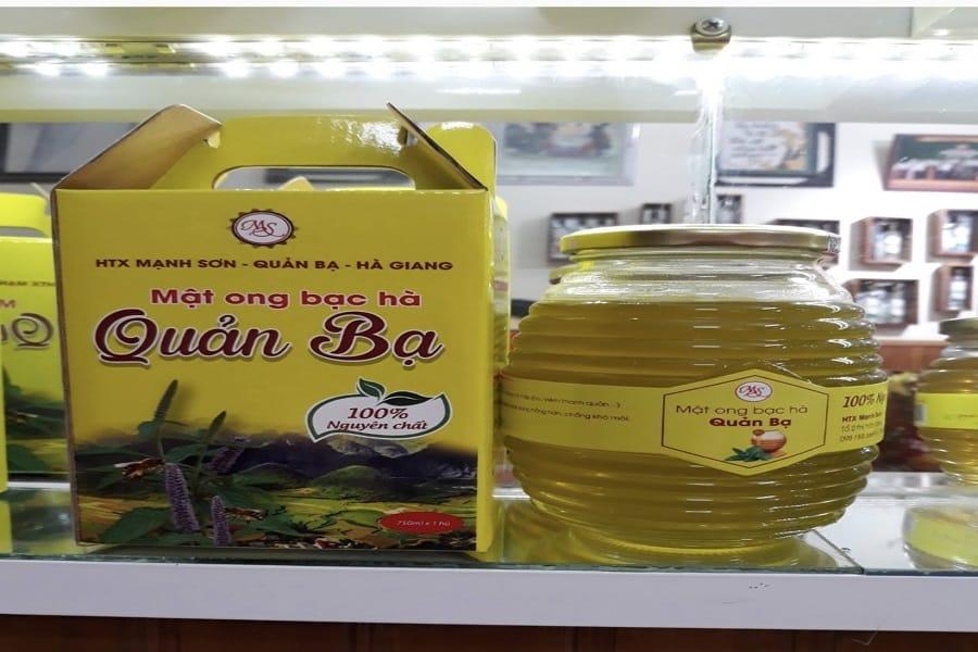 Mật ong bạc hà Hà Giang – Đặc sản trứ danh nơi cao nguyên đá