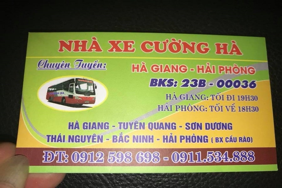 Nhà xe Cường Hà