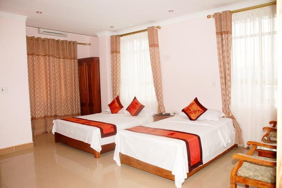 Không gian phòng nghỉ tại khách sạn Cao Nguyên