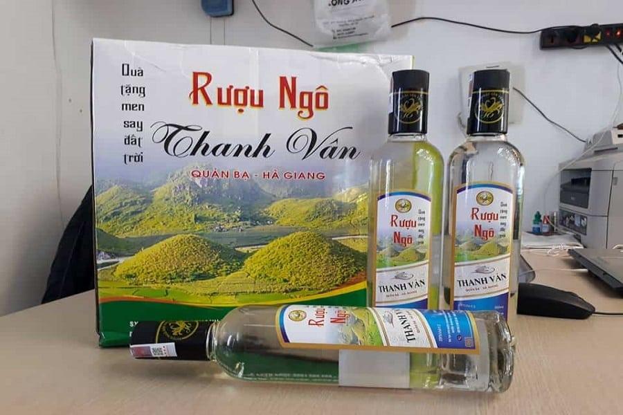 Đặc sản rượu ngô của Hà Giang
