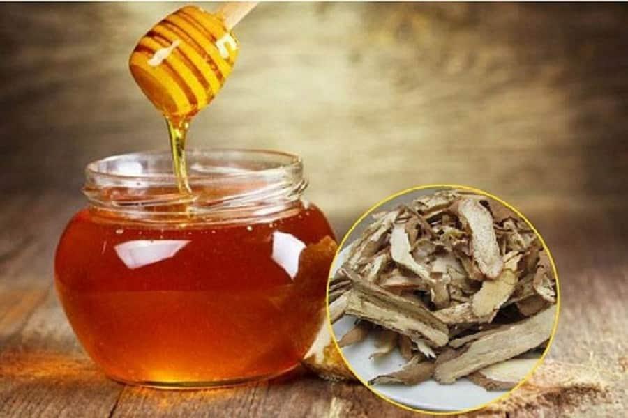 Sâm đá ngâm mật ong