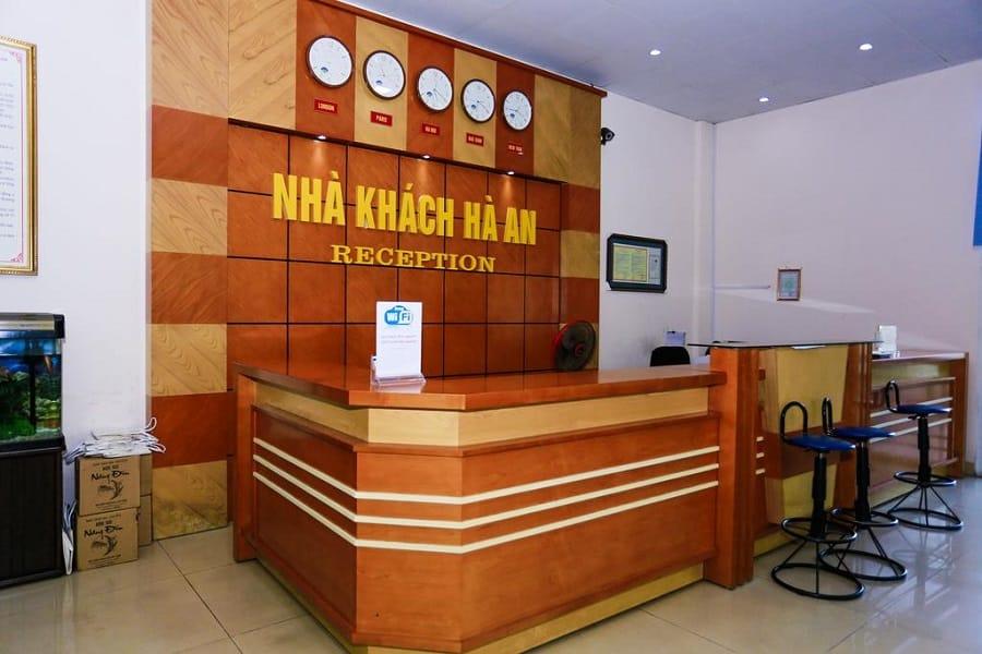 Sảnh khách sạn Hà An Hà Giang