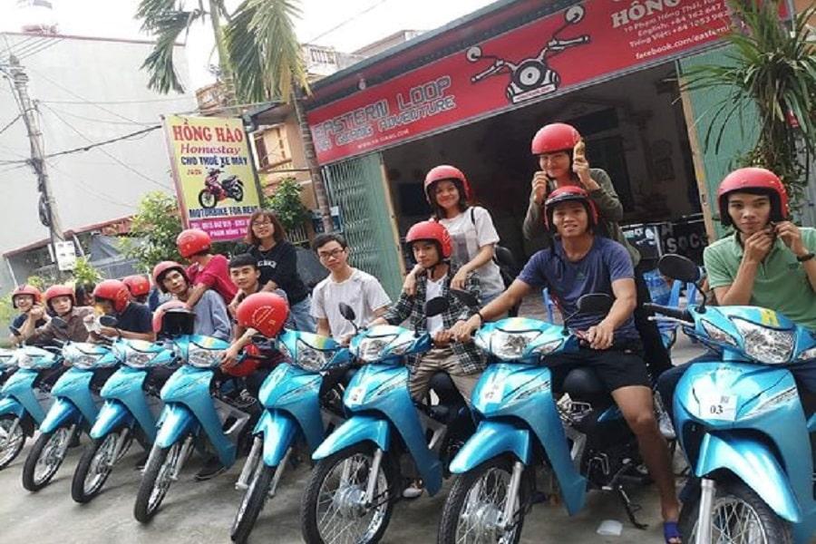 Dịch vụ thuê xe máy Hồng Hào