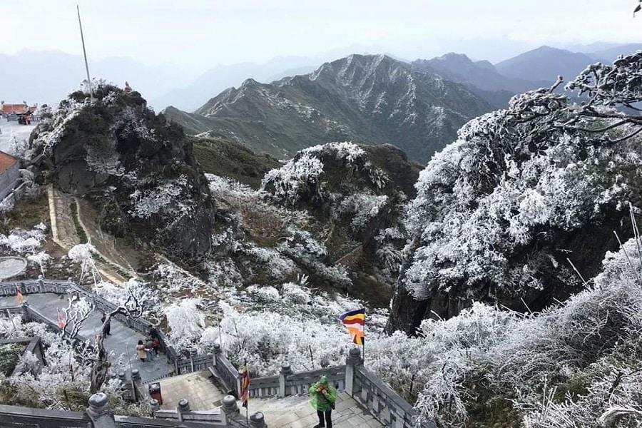 Ngắm nhìn tuyết rơi ở Sapa