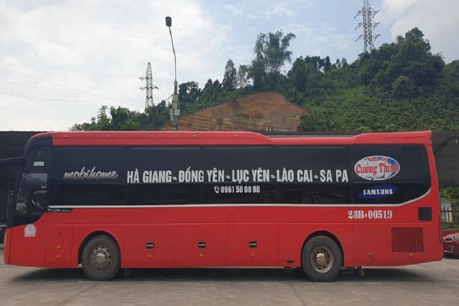 Xe khách chuyến Hà Giang - Sapa