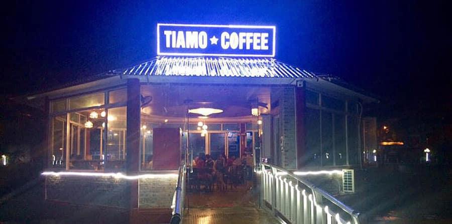 Quán cà phê Tiamo luôn được du khách yêu thích ở Hà Giang