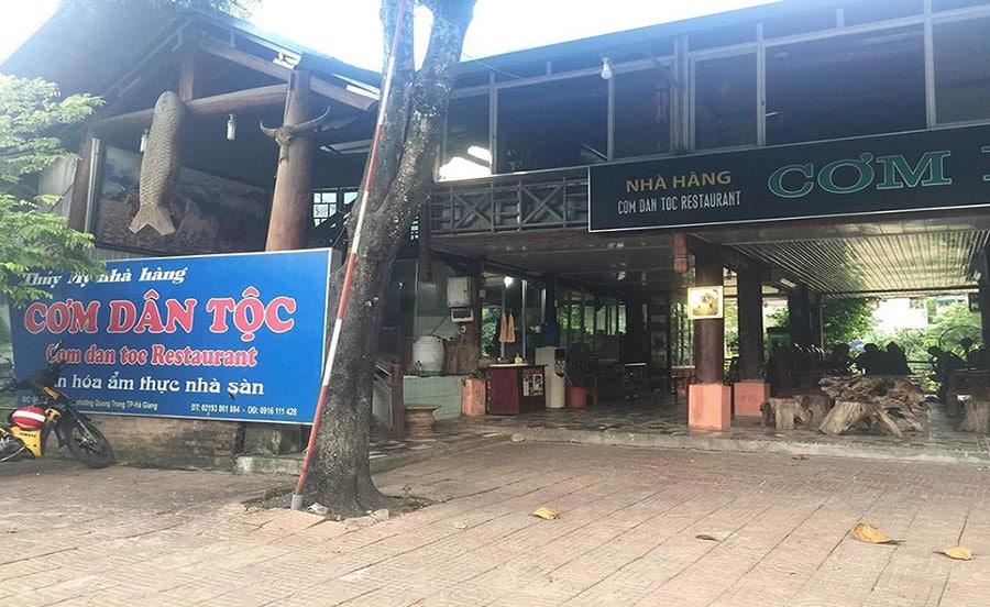 Nhà hàng Cơm Dân Tộc