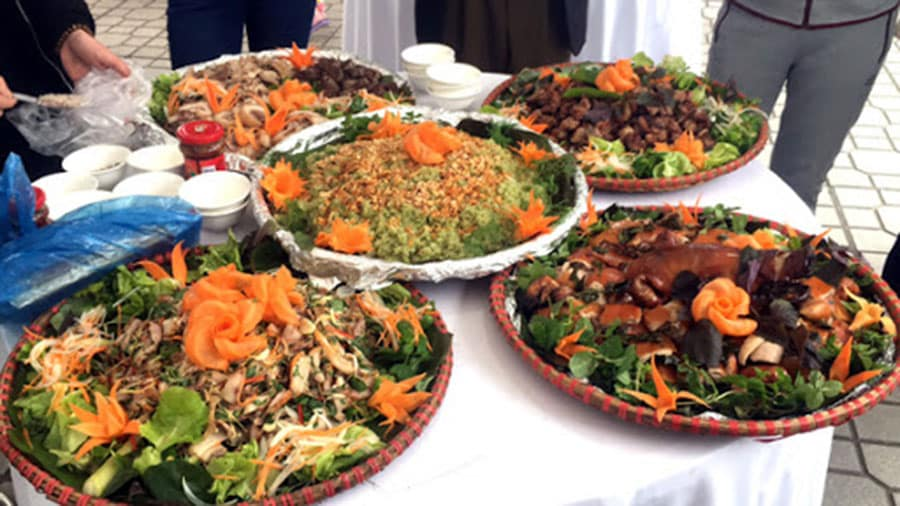 Nhà hàng Sông Núi - nơi lưu giữ nét văn hoá ẩm thực Hà Giang