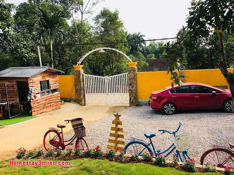 Embossi Garden Homestay Ba Vì