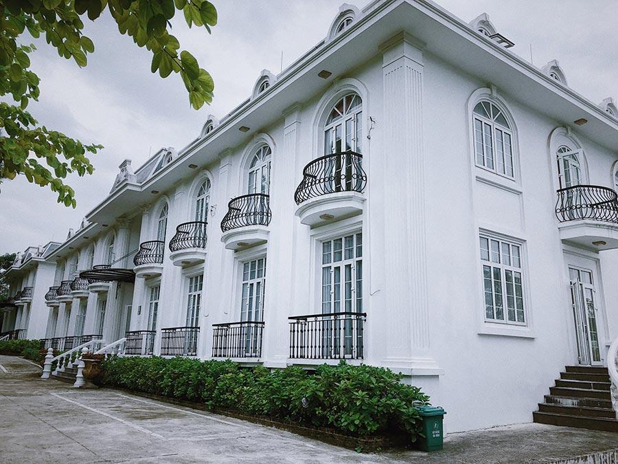 Ba Vì Resort mang đậm phong cách châu Âu