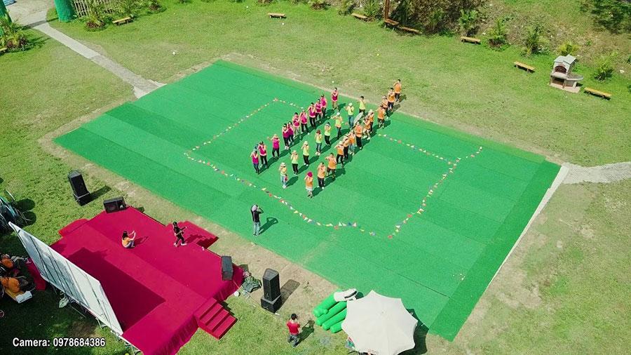 Tại resort còn tổ chức nhiều hoạt động team building