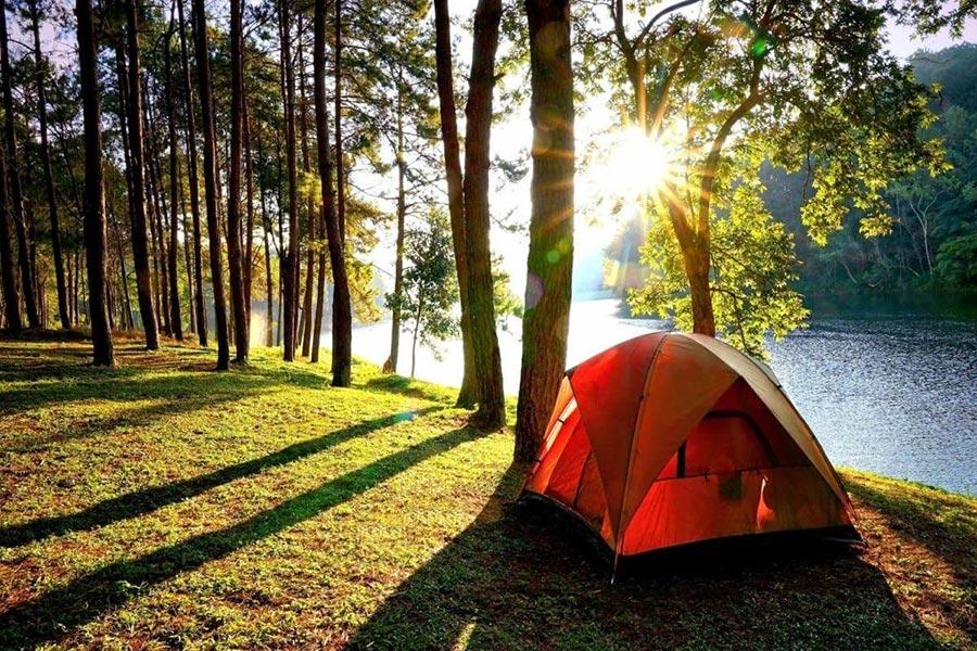 Cắm trại ở bản Xôi Ba Vì