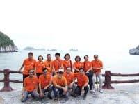 Cựu học sinh lớp 10B trường THPT Ngô Quyền du lịch Cát Bà