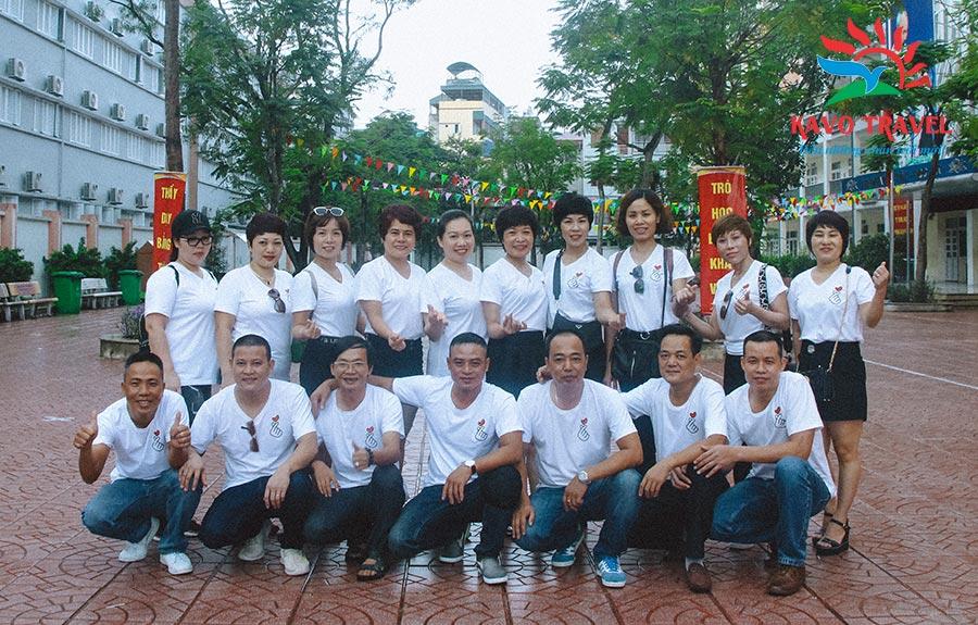 Đoàn Cựu học sinh lớp 8B, Trường PTCS Đại Kim du lịch Ba Vì