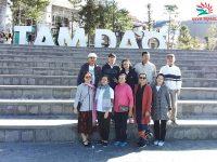 Gia đình chị Hiền du lịch Ninh Bình – Pù Luông – Tam Đảo