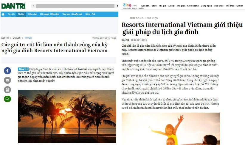 Kỳ nghỉ gia đình giúp bạn và gia đình nghỉ ở resort, khách sạn 4 - 5 sao như cam kết