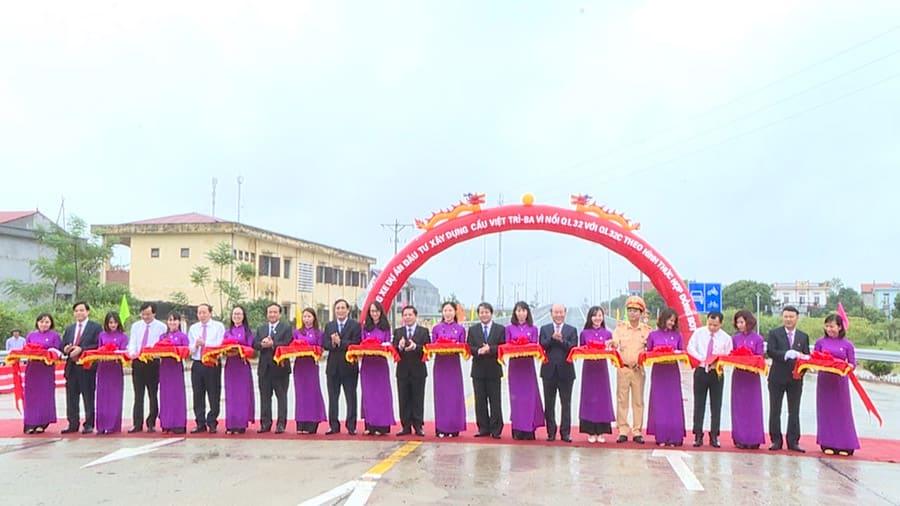 Lễ thông xem cầu Việt Trì - Phú Thọ