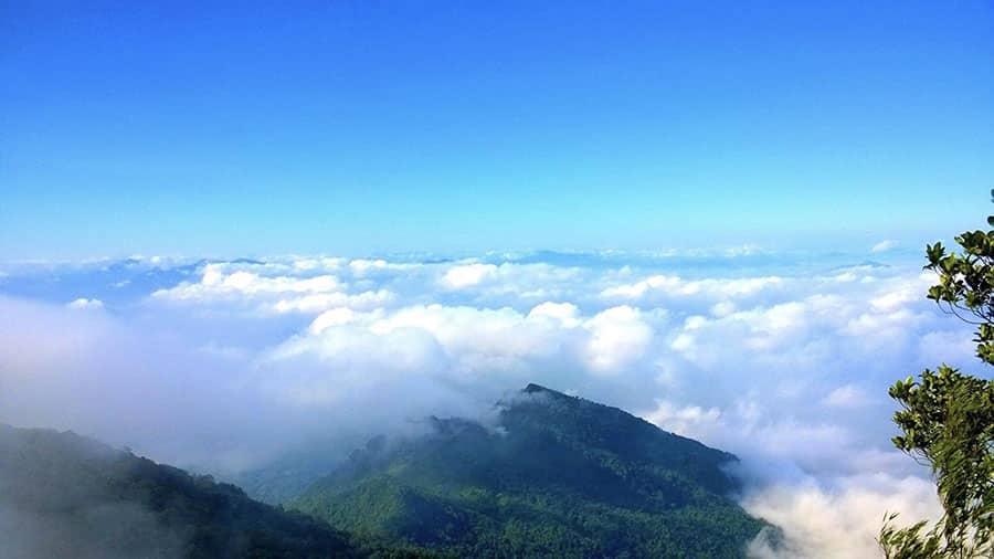 Núi Ba Vì - điểm săn mây lí tưởng