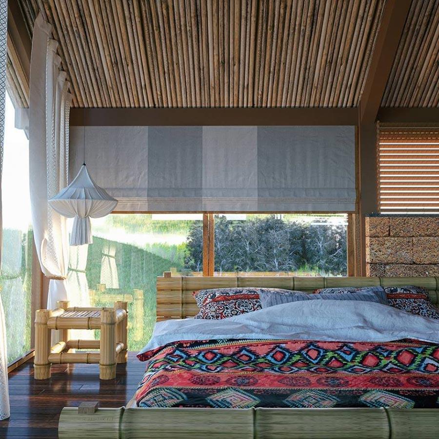 Phòng nghỉ tại thung lũng bản Xôi