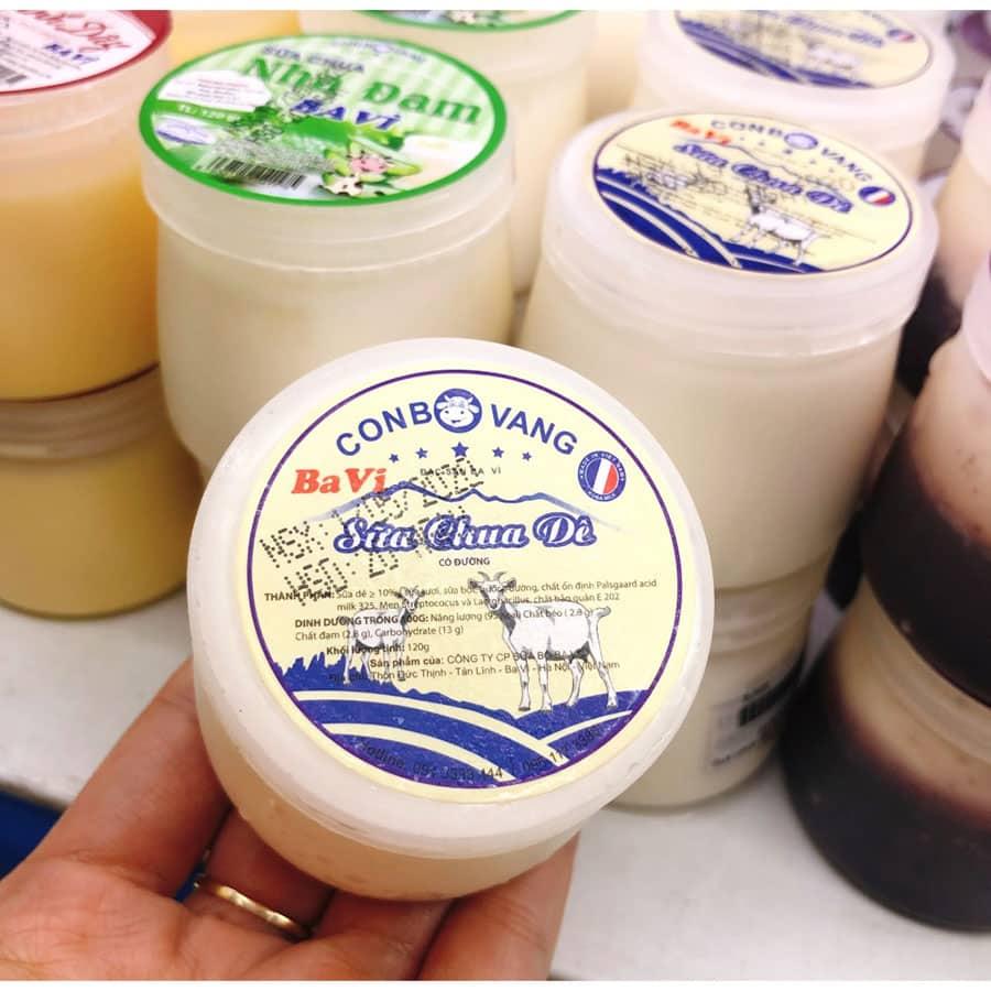 Sữa chua dê - đặc sản Ba Vì