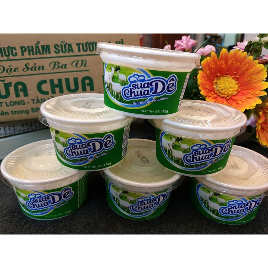 Sữa chua dê Ba Vì tốt cho sức khỏe nhưng cần biết cách sử dụng cho đúng