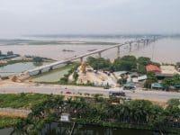 Toàn cảnh cầu Việt Trì - Phú Thọ