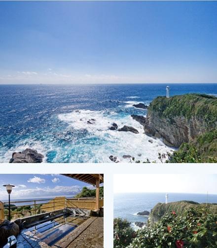 Cape Ashizuri & Ashizuri Hot Spring