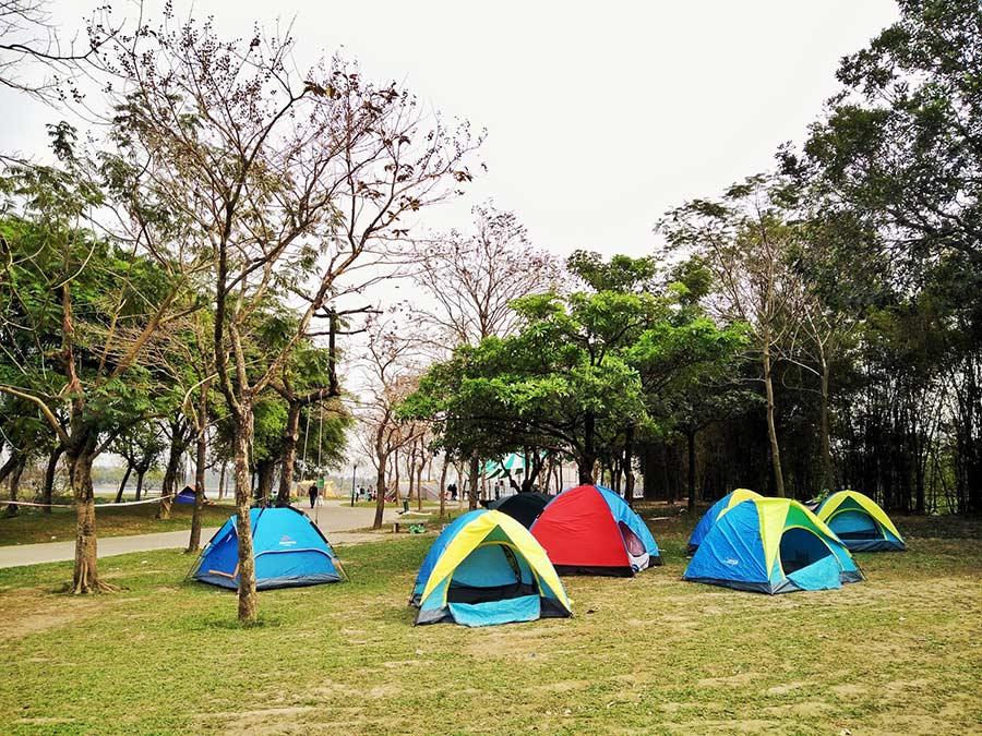 Cắm trại ở Ba Vì - hoạt động vô cùng thú vị