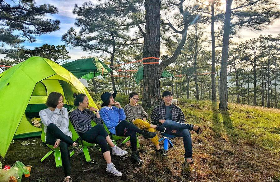 Cắm trại ở Ba Vì cũng cực chill