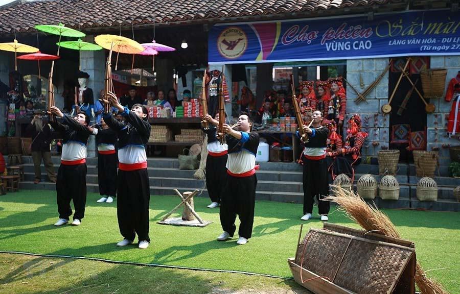 Một số hoạt động nổi bật tại địa điểm du lịch làng Văn Hóa