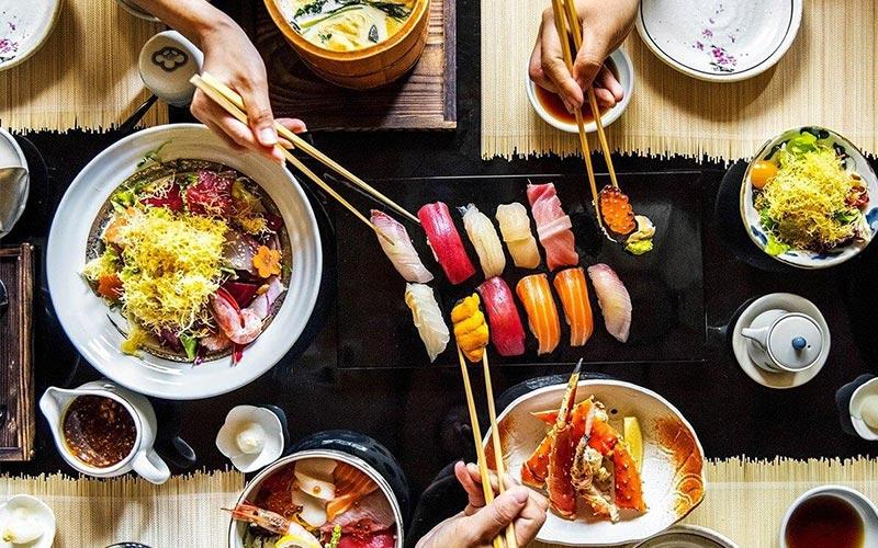 Ẩm thực Nhật Bản phong phú