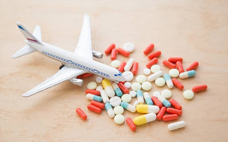 Thuốc là thứ không thể thiếu khi đi du lịch