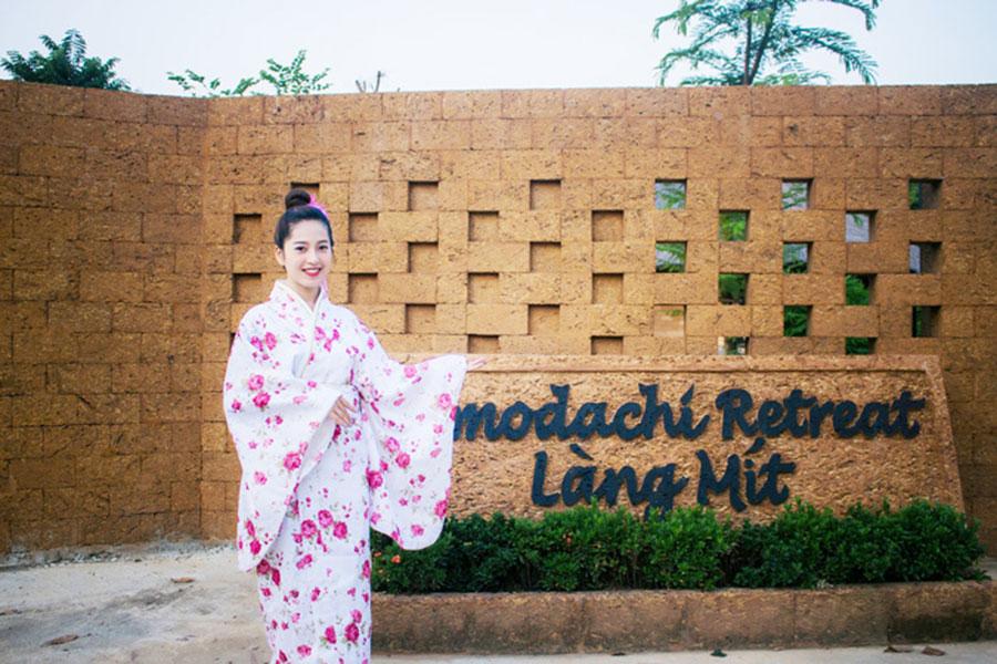 Chụp ảnh với trang phục Nhật Bản luôn là hoạt động được du khách yêu thích