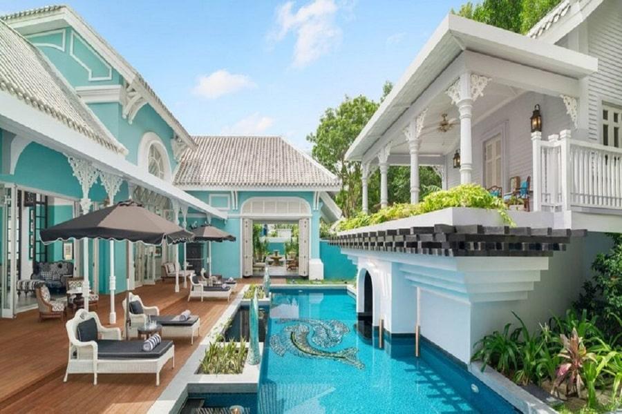 Hồ bơi riêng tại 3 bedroom villa