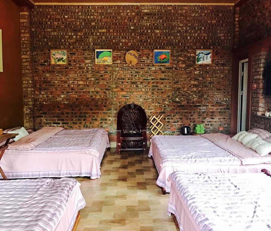 Phòng dịch vụ tại homestay Lai Farm